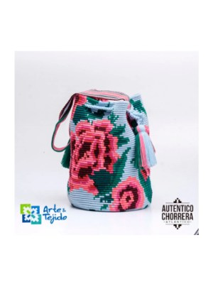 Arte y Tejido, Mochila Baldia, Chorrera, Mochila, Tejida, Knitted, Crochet, Natural Fibers, Algodón, Cotton, Fibras Naturales, Bag, Baldia