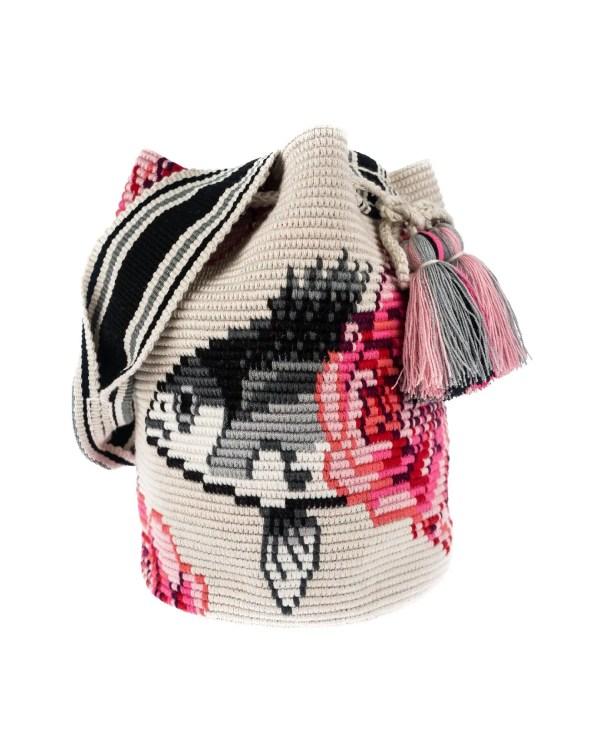 Arte y Tejido, Mochila Belchi, Chorrera, Mochila, Tejida, Knitted, Crochet, Natural Fibers, Algodón, Cotton, Fibras Naturales, Bag, Belchi