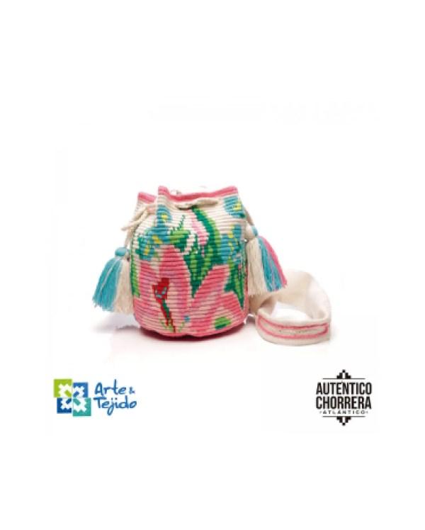 Arte y Tejido, Mochila Carisa, Chorrera, Mochila, Tejida, Knitted, Crochet, Natural Fibers, Algodón, Cotton, Fibras Naturales, Bag, Carisa