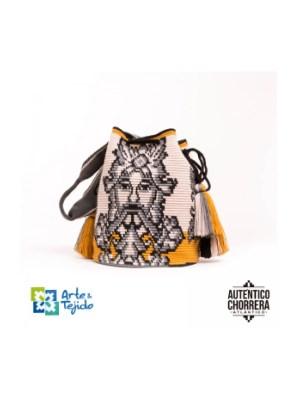 Arte y Tejido, Mochila Ceres, Chorrera, Mochila, Tejida, Knitted, Crochet, Natural Fibers, Algodón, Cotton, Fibras Naturales, Bag, Ceres
