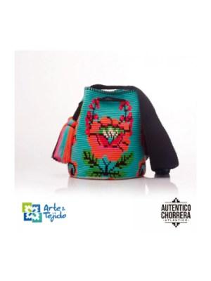 Arte y Tejido, Mochila Cher, Chorrera, Mochila, Tejida, Knitted, Crochet, Natural Fibers, Algodón, Cotton, Fibras Naturales, Bag, Cher