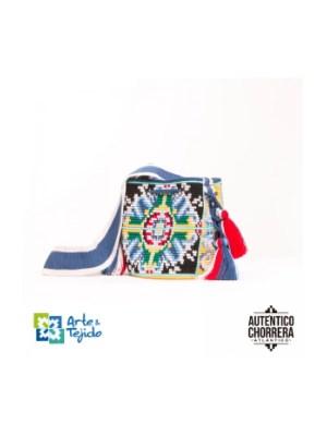 Arte y Tejido, Mochila Cholula, Chorrera, Mochila, Tejida, Knitted, Crochet, Natural Fibers, Algodón, Cotton, Fibras Naturales, Bag, Cholula