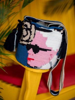Arte y Tejido, Chorrera, Mochila, Tejida, Knitted, Crochet, Natural Fibers, Algodón, Cotton, Fibras Naturales, Bag, Cocco, Mochila Cocco