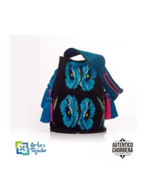 Arte y Tejido, Mochila Colibri, Chorrera, Mochila, Tejida, Knitted, Crochet, Natural Fibers, Algodón, Cotton, Fibras Naturales, Bag, Colibri
