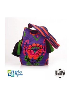 Arte y Tejido, Mochila Cooper, Chorrera, Mochila, Tejida, Knitted, Crochet, Natural Fibers, Algodón, Cotton, Fibras Naturales, Bag, Cooper