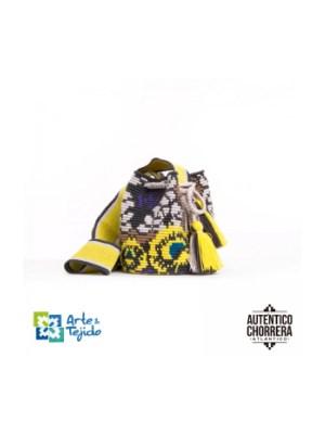 Arte y Tejido, Mochila Crania, Chorrera, Mochila, Tejida, Knitted, Crochet, Natural Fibers, Algodón, Cotton, Fibras Naturales, Bag, Crania