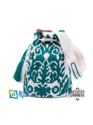 Arte y Tejido, Mochila Cuvil, Chorrera, Mochila, Tejida, Knitted, Crochet, Natural Fibers, Algodón, Cotton, Fibras Naturales, Bag, Cuvil