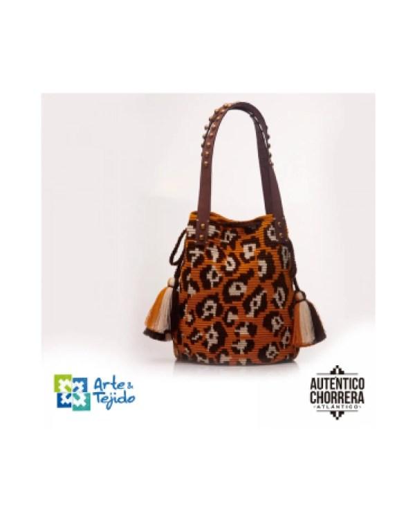 Arte y Tejido, Mochila Daintre, Chorrera, Mochila, Tejida, Knitted, Crochet, Natural Fibers, Algodón, Cotton, Fibras Naturales, Bag, Daintre