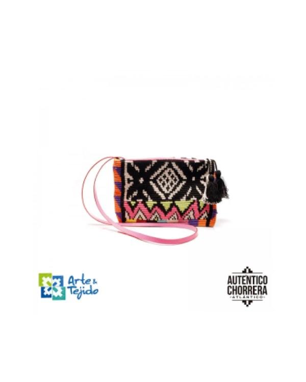 Arte y Tejido, Mochila Danna, Chorrera, Mochila, Tejida, Knitted, Crochet, Natural Fibers, Algodón, Cotton, Fibras Naturales, Bag, Danna