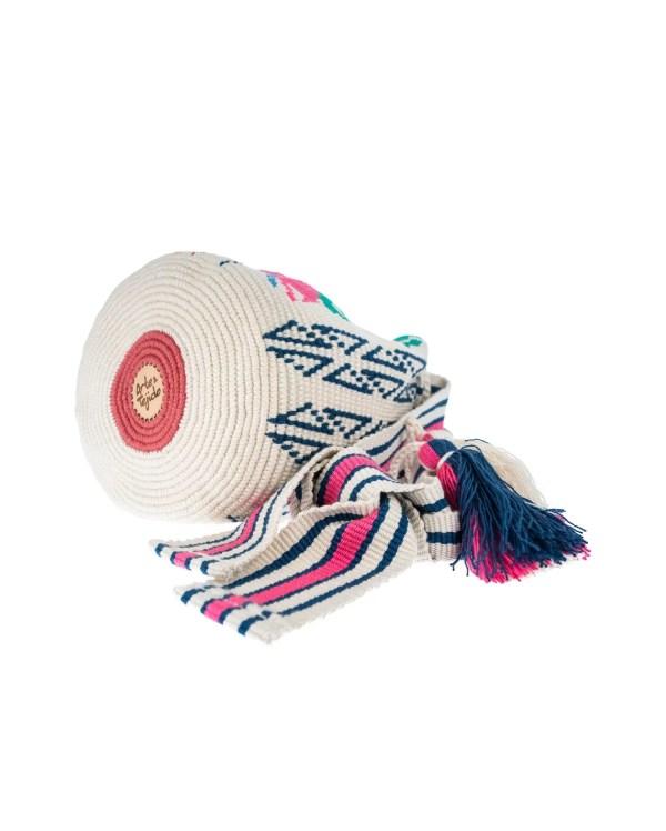 Arte y Tejido, Mochila Delano, Chorrera, Mochila, Tejida, Knitted, Crochet, Natural Fibers, Algodón, Cotton, Fibras Naturales, Bag, Delano