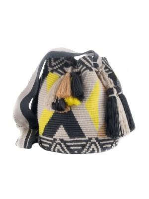 Arte y Tejido, Mochila Espiral, Chorrera, Mochila, Tejida, Knitted, Crochet, Natural Fibers, Algodón, Cotton, Fibras Naturales, Bag, Espiral