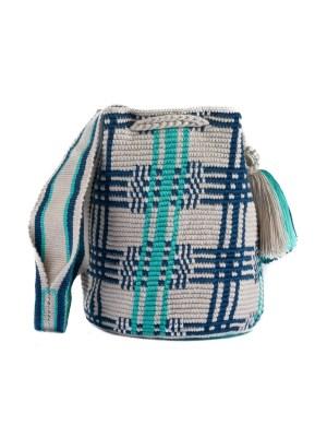 Arte y Tejido, Mochila Etosh, Chorrera, Mochila, Tejida, Knitted, Crochet, Natural Fibers, Algodón, Cotton, Fibras Naturales, Bag, Etosh