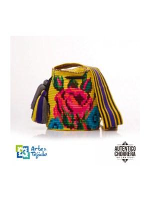 Arte y Tejido, Mochila Gariba, Chorrera, Mochila, Tejida, Knitted, Crochet, Natural Fibers, Algodón, Cotton, Fibras Naturales, Bag, Gariba