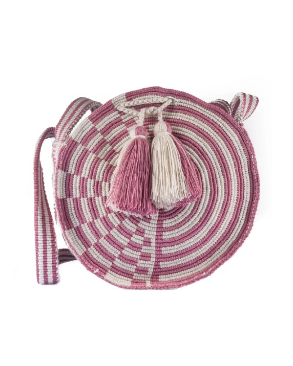 Arte y Tejido, Mochila Guaba, Chorrera, Mochila, Tejida, Knitted, Crochet, Natural Fibers, Algodón, Cotton, Fibras Naturales, Bag, Guaba