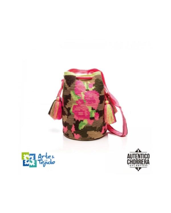 Arte y Tejido, Mochila Hack, Chorrera, Mochila, Tejida, Knitted, Crochet, Natural Fibers, Algodón, Cotton, Fibras Naturales, Bag, Hack