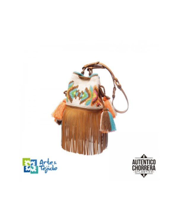 Arte y Tejido, Mochila Hupa, Chorrera, Mochila, Tejida, Knitted, Crochet, Natural Fibers, Algodón, Cotton, Fibras Naturales, Bag, Hupa