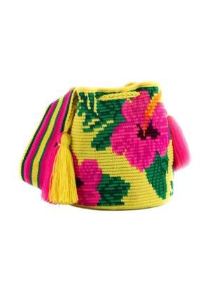Arte y Tejido, Mochila Jelow, Chorrera, Mochila, Tejida, Knitted, Crochet, Natural Fibers, Algodón, Cotton, Fibras Naturales, Bag, Jelow