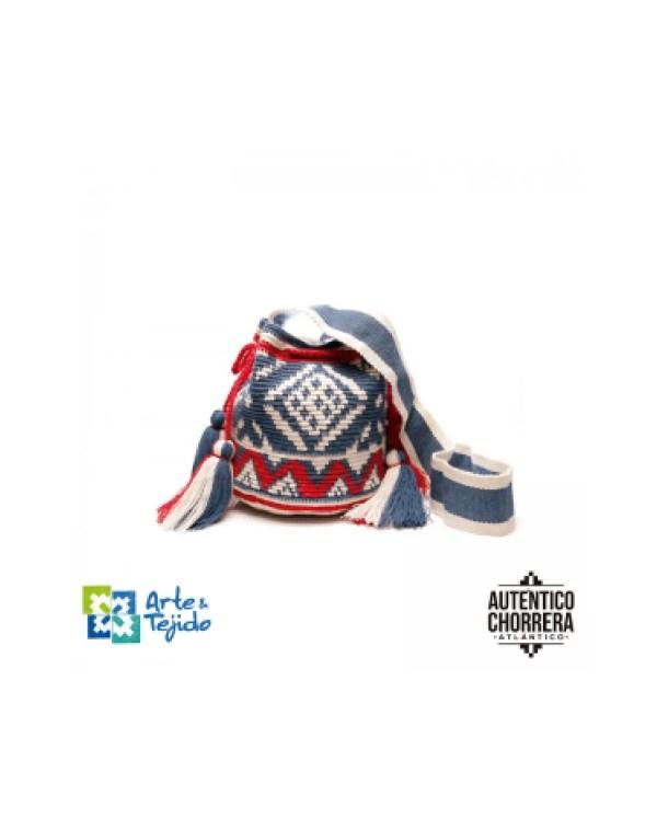 Arte y Tejido, Mochila Kabil, Chorrera, Mochila, Tejida, Knitted, Crochet, Natural Fibers, Algodón, Cotton, Fibras Naturales, Bag, Kabil