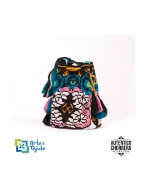 Arte y Tejido, Mochila Kiev, Chorrera, Mochila, Tejida, Knitted, Crochet, Natural Fibers, Algodón, Cotton, Fibras Naturales, Bag, Kiev