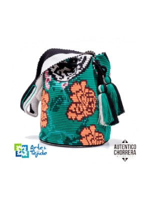 Arte y Tejido, Mochila Kimono, Chorrera, Mochila, Tejida, Knitted, Crochet, Natural Fibers, Algodón, Cotton, Fibras Naturales, Bag, Kimono