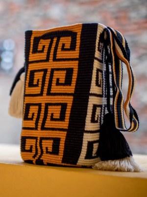 Arte y Tejido, Chorrera, Mochila, Tejida, Knitted, Crochet, Natural Fibers, Algodón, Cotton, Fibras Naturales, Bag, Maach, Mochila Maach