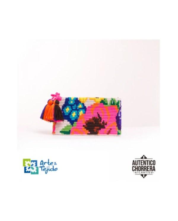 Arte y Tejido, Mochila Margarita, Chorrera, Mochila, Tejida, Knitted, Crochet, Natural Fibers, Algodón, Cotton, Fibras Naturales, Bag, Margarita