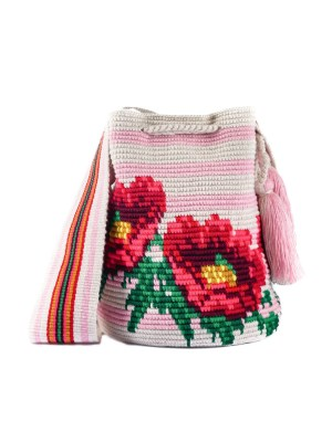 Arte y Tejido, Mochila Mars, Chorrera, Mochila, Tejida, Knitted, Crochet, Natural Fibers, Algodón, Cotton, Fibras Naturales, Bag, Mars