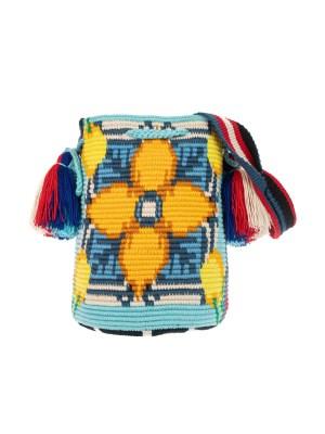 Arte y Tejido, Chorrera, Mochila, Tejida, Knitted, Crochet, Natural Fibers, Algodón, Cotton, Fibras Naturales, Bag, Mina, Mochila Mina