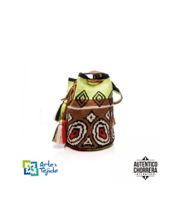 Arte y Tejido, Mochila Mursi, Chorrera, Mochila, Tejida, Knitted, Crochet, Natural Fibers, Algodón, Cotton, Fibras Naturales, Bag, Mursi