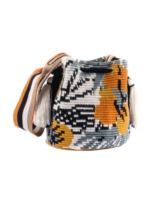 Arte y Tejido, Mochila Musty, Chorrera, Mochila, Tejida, Knitted, Crochet, Natural Fibers, Algodón, Cotton, Fibras Naturales, Bag, Musty
