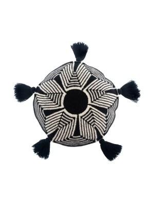 Arte y Tejido, Cojín Nashik, Nashik CushionChorrera, Cojín, Cushion, Tejido, Knitted, Crochet, Natural Fibers, Algodón, Cotton, Fibras Naturales, Nashik