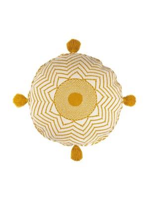 Arte y Tejido, Chorrera, Cojín, Cushion, Tejido, Knitted, Crochet, Natural Fibers, Algodón, Cotton, Fibras Naturales, Nungwi, Cojin Nungwi, Nungwi Cushion