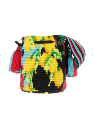 Arte y Tejido, Chorrera, Mochila, Tejida, Knitted, Crochet, Natural Fibers, Algodón, Cotton, Fibras Naturales, Bag, Palerma, Mochila Palerma