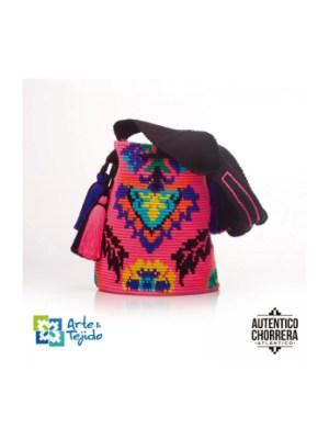 Arte y Tejido, Mochila Peace, Chorrera, Mochila, Tejida, Knitted, Crochet, Natural Fibers, Algodón, Cotton, Fibras Naturales, Bag, Peace