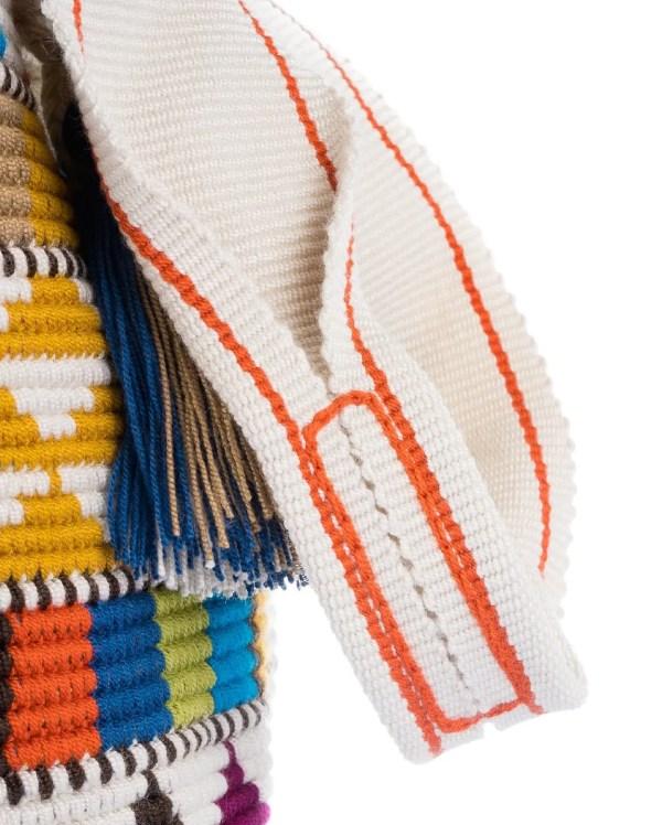 Arte y Tejido, Mochila Sahara, Chorrera, Mochila, Tejida, Knitted, Crochet, Natural Fibers, Algodón, Cotton, Fibras Naturales, Bag, Sahara, Frenesí