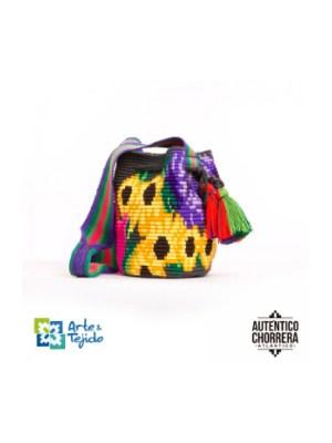 Arte y Tejido, Mochila Salaka, Chorrera, Mochila, Tejida, Knitted, Crochet, Natural Fibers, Algodón, Cotton, Fibras Naturales, Bag, Salaka