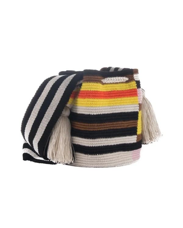 Arte y Tejido, Mochila Shavai, Chorrera, Mochila, Tejida, Knitted, Crochet, Natural Fibers, Algodón, Cotton, Fibras Naturales, Bag, Shavai