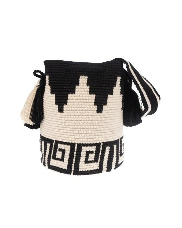 Arte y Tejido, Chorrera, Mochila, Tejida, Knitted, Crochet, Natural Fibers, Algodón, Cotton, Fibras Naturales, Bag, Shirum, Mochila Shirum