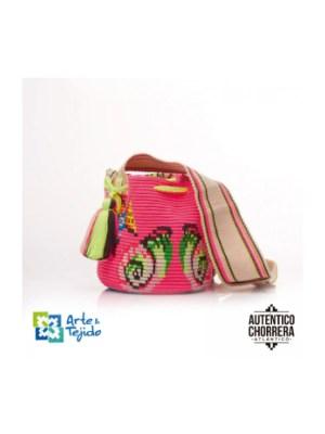 Arte y Tejido, Mochila Snapper, Chorrera, Mochila, Tejida, Knitted, Crochet, Natural Fibers, Algodón, Cotton, Fibras Naturales, Bag, Snapper