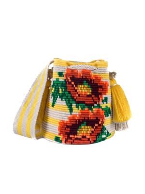 Arte y Tejido, Mochila Suny, Chorrera, Mochila, Tejida, Knitted, Crochet, Natural Fibers, Algodón, Cotton, Fibras Naturales, Bag, Suny