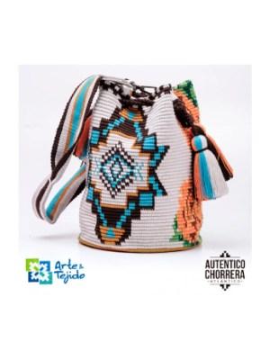 Arte y Tejido, Mochila Tadel, Chorrera, Mochila, Tejida, Knitted, Crochet, Natural Fibers, Algodón, Cotton, Fibras Naturales, Bag, Tadel