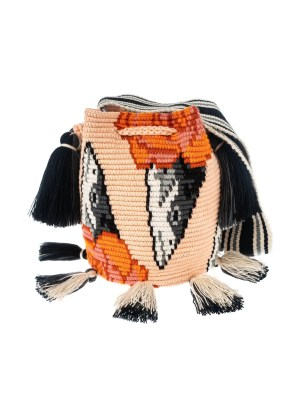 Arte y Tejido, Mochila Tatti, Chorrera, Mochila, Tejida, Knitted, Crochet, Natural Fibers, Algodón, Cotton, Fibras Naturales, Bag, Tatti