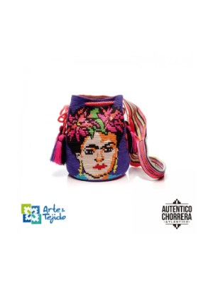 Arte y Tejido, Mochila Tibol, Chorrera, Mochila, Tejida, Knitted, Crochet, Natural Fibers, Algodón, Cotton, Fibras Naturales, Bag, Tibol