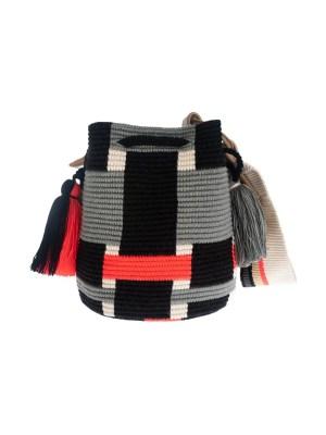 Arte y Tejido, Mochila Trenz, Chorrera, Mochila, Tejida, Knitted, Crochet, Natural Fibers, Algodón, Cotton, Fibras Naturales, Bag, Trenz