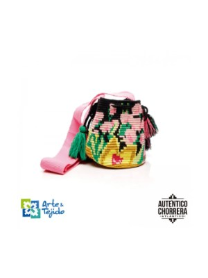 Arte y Tejido, Mochila Venus, Chorrera, Mochila, Tejida, Knitted, Crochet, Natural Fibers, Algodón, Cotton, Fibras Naturales, Bag, Venus