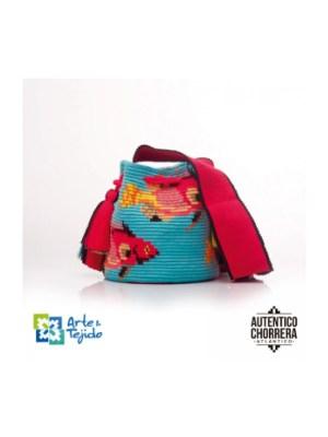 Arte y Tejido, Chorrera, Mochila, Tejida, Knitted, Crochet, Natural Fibers, Algodón, Cotton, Fibras Naturales, Bag, Wahoo