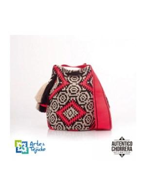 Arte y Tejido, Mochila Zambezi, Chorrera, Mochila, Tejida, Knitted, Crochet, Natural Fibers, Algodón, Cotton, Fibras Naturales, Bag, Zambezi