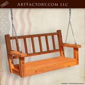 Custom Backyard or Porch Swing