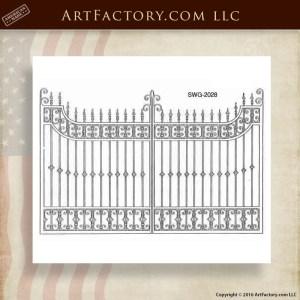 Decorative Iron Gate Designs