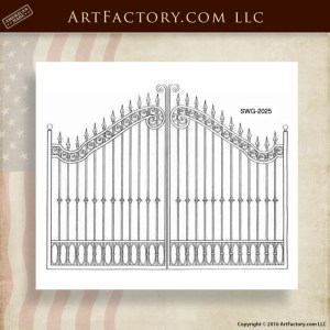 Decorative Security Entry Gates